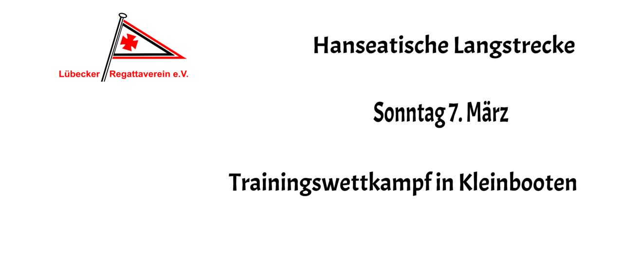 Hanseatische Langstrecke als Trainingswettkampf